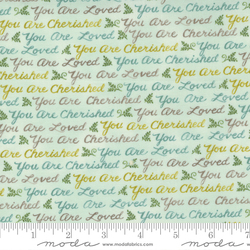 Woodland Words in Mint