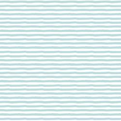 Painted Stripe in Aqua