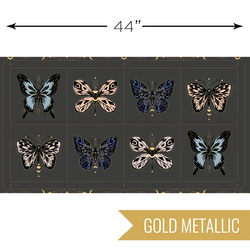 Gossamer Panel in Metallic Ash
