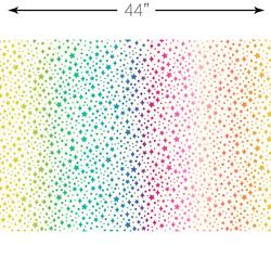 Rainbow Sparkles in Cream