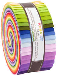 Kona Cotton Solids Roll Up in Annie Smith