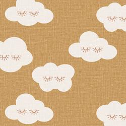 Sleepy Clouds in Mustard
