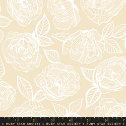 Floral Lace in Parchment
