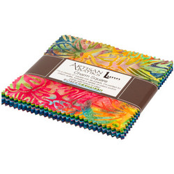 Artisan Batiks: Totally Tropical by Lunn Studios - Complete Collection Charm Pack