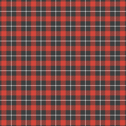 Little Tartan Plaid in Classic Red
