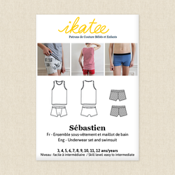 Sebastien Underwear Set and Swimsuit - Boys