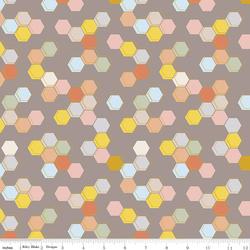 Honeycomb in Gray