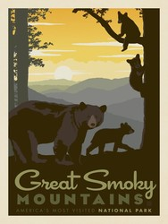 Poster Panel in Great Smoky Mountains