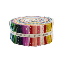 """Cotton and Steel Basics 2.5"""" Strip Roll"""