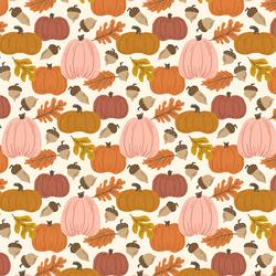 Autumn Harvest in Pumpkin Patch