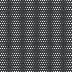 Small Winter Dot in White on Dark Grey
