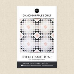 Diamond Ripples Quilt