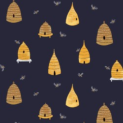 Bee Hives in Navy