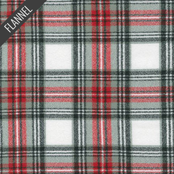Mammoth Vivid Plaid Flannel in Country