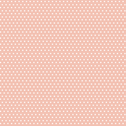 Polka Dots in Light Peach