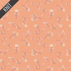 Miss Ditzys Knit in Peachcobbler
