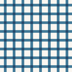 Cottage Gingham in Bluebird