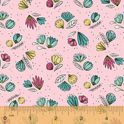 Small Floral in Pink