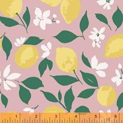 Lemons in Light Pink