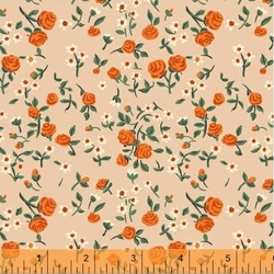 Mousies Floral in Peach
