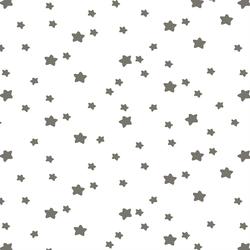 Star Light in Greige on White