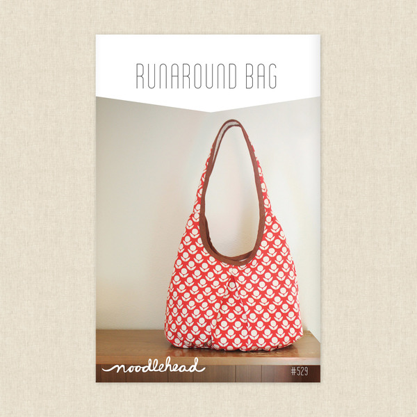Runaround Bag Sewing Pattern by Noodlehead at Hawthorne Supply Co