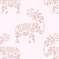 Elephant Parade in Lotus Pink