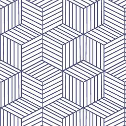Cubic in Indigo