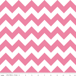 Medium Chevron in Hot Pink