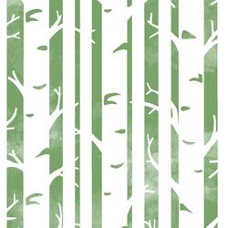 Big Birches in Pistachio