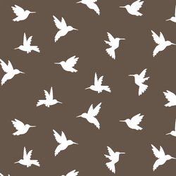 Hummingbird Silhouette in Timber