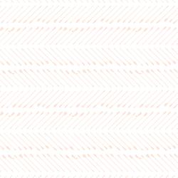 Chevron Arrows in Barely Blush on White