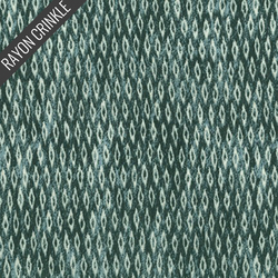 Diamond Plated Crinkle in Sage