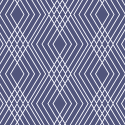 Interlock in Indigo
