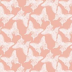 Butterflies in Pink Glow