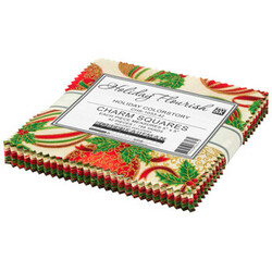 """Holiday Flourish 15 5"""" Square Pack in Holiday Colorstory"""