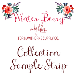 Winter Berry Sample Strip