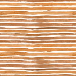 Watercolor Wash Stripe in Warm Gold