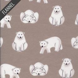Polar Bears in Gray