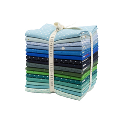 Cotton and Steel Basics Fat Quarter Bundle in Cool