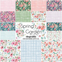 Spring Garden Fat Quarter Bundle Big Scale