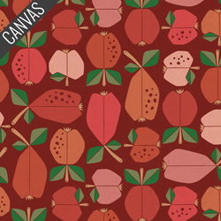 Orchard Canvas in Vermilion