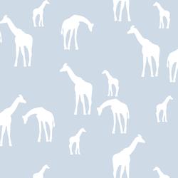 Giraffe Silhouette in Cirrus