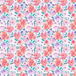 Tiny Summer Fling Floral in Romance