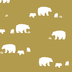 Wandering Bears in Gold