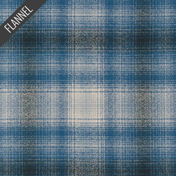 Mammoth Bold Plaid Flannel in Blue