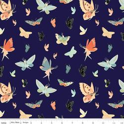 Butterflies in Navy