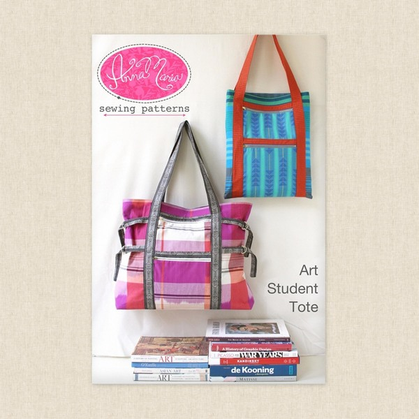 Art Student Tote Sewing Pattern by Anna Maria Horner at Hawthorne ...