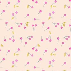Ice Cream Cherry in Peach Swirl