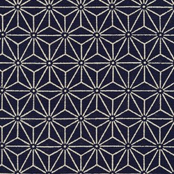 Geometric in Indigo